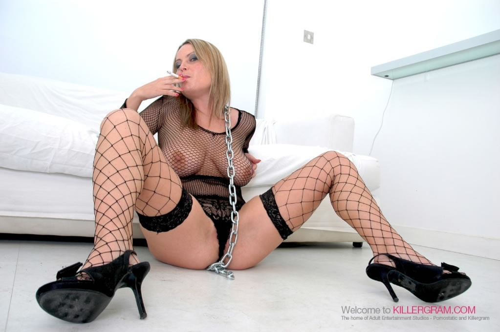 Alexis May - Smoke The Monster Cock
