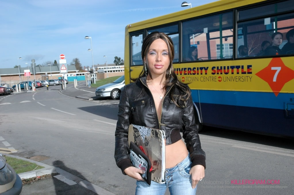 Anaya Leon - The Horny Student Slut