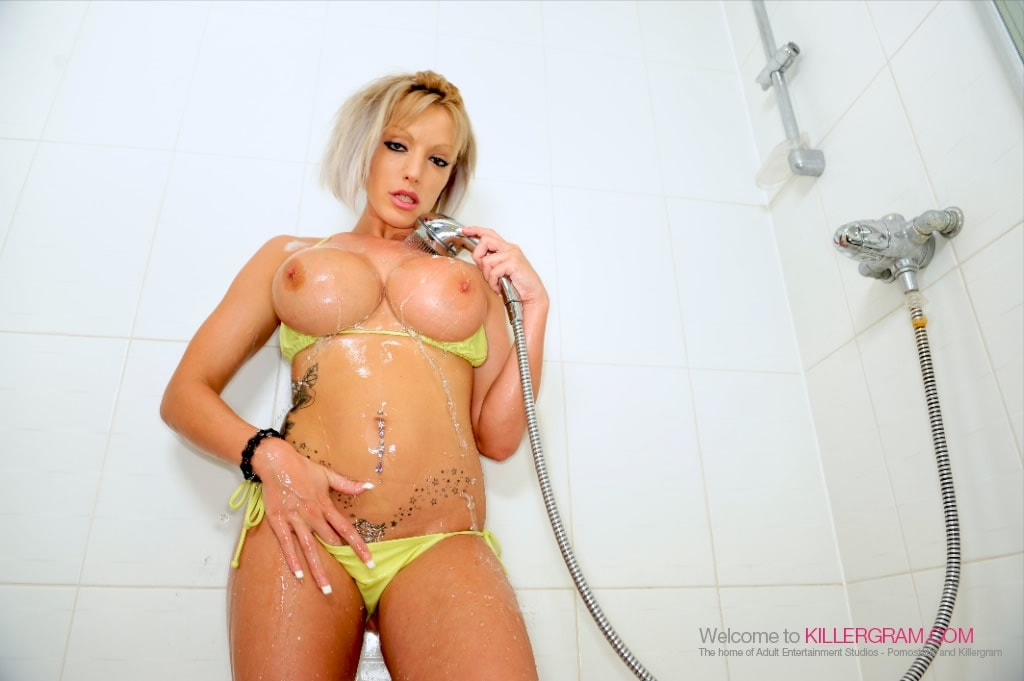 Brooke Jameson - Soaped Up and Fucked