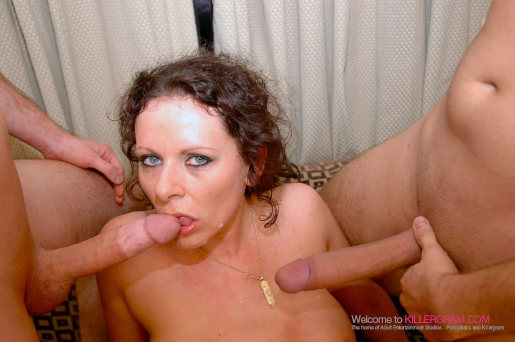 Carley Gee - Spit-Roasted and Loves It