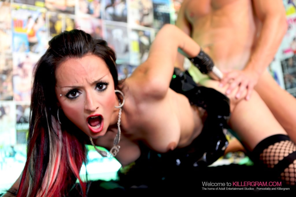Cherry Stone - Hot Asian Rock Chick