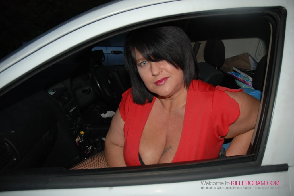 Curvy Danielle - A Dogging Debut