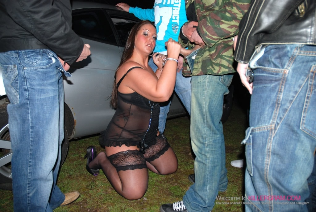 Danni Sweet - The Dogging Army