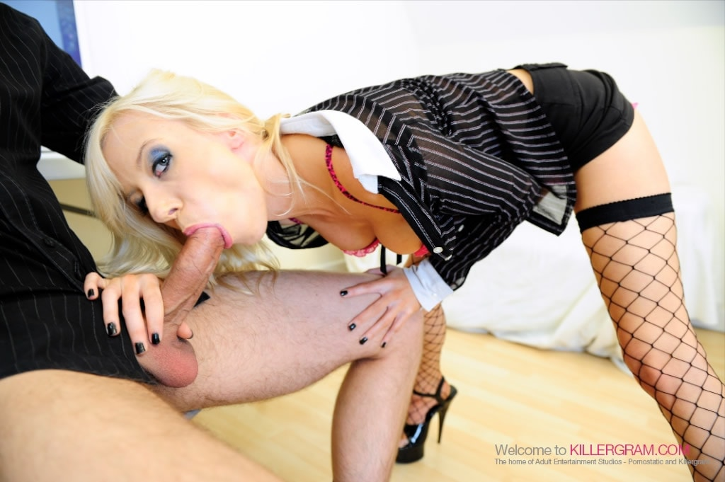 Harmony Hex - A Hot Blonde Secretary
