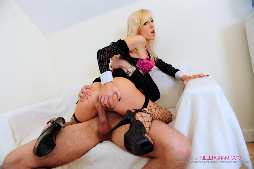 Harmony Hex - A Hot Blonde Secretary