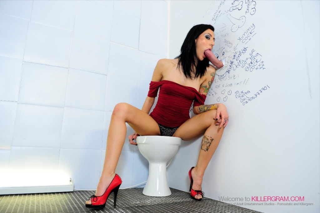 Havana Sin - A Glory Hole Blowjob