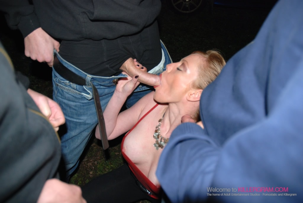 Holly XX - A Dogging Cock Fest
