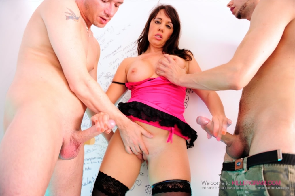 Jane Berry - A Glory Hole Cock Slut
