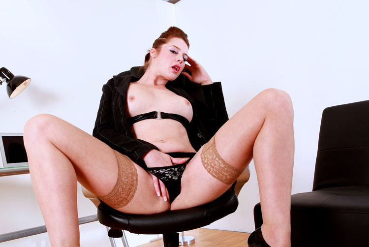 Karina Currie - An Office Audition