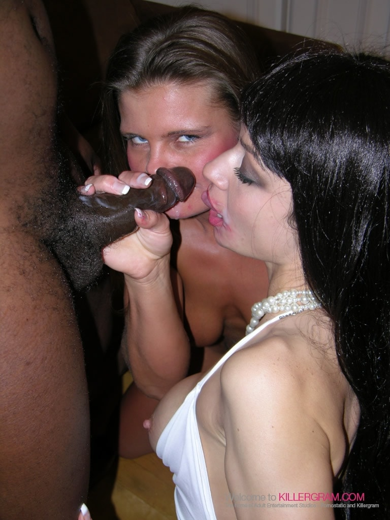 Karla Romano - Sharing Big Black Cock