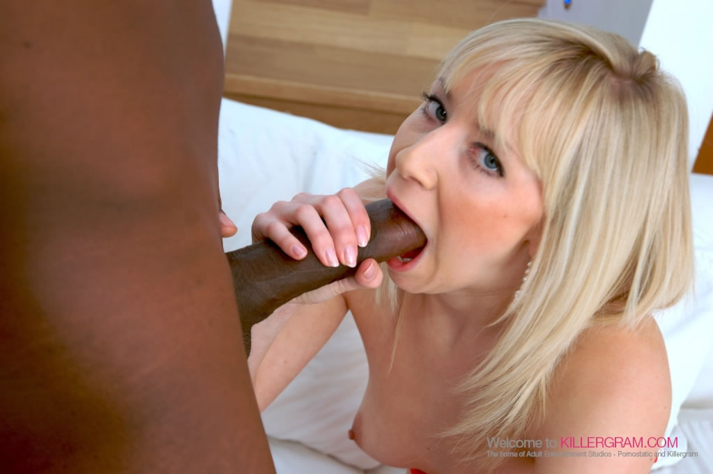 Karlie Simone - Black On Blonde Perfection
