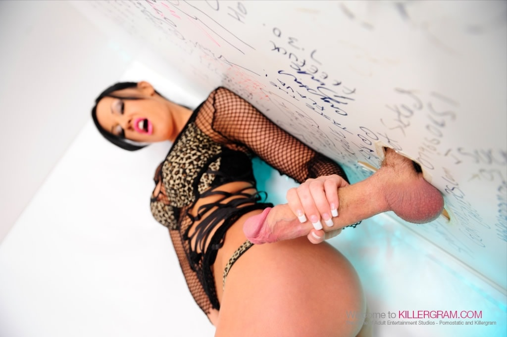 Lolly Badcock - Monster Cock Glory Hole