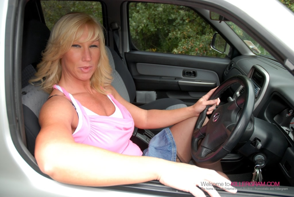 Melody Charles - Hot Blonde Dogging