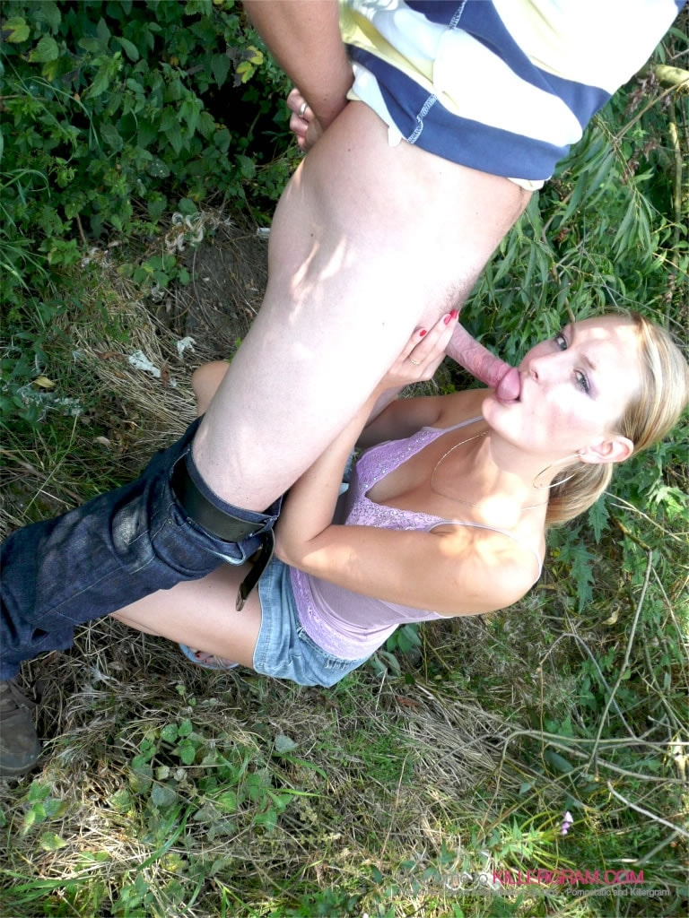 Natasha Roman - Countryside Dogging