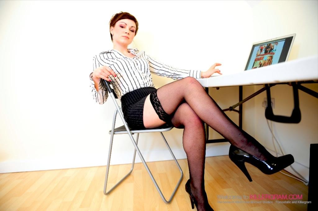 Penelope Heart - No Panties In The Office