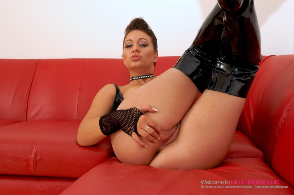 Renee Richards - Hot Smoking for Black Cock