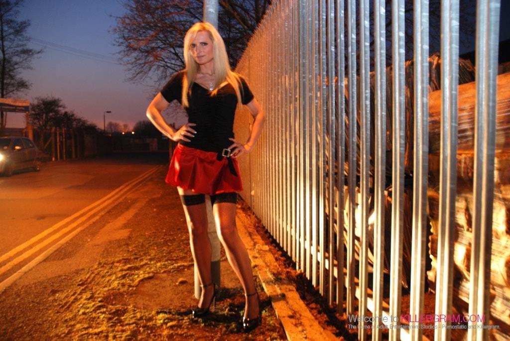Samantha Shaw - A Hot MILF Streetwalker