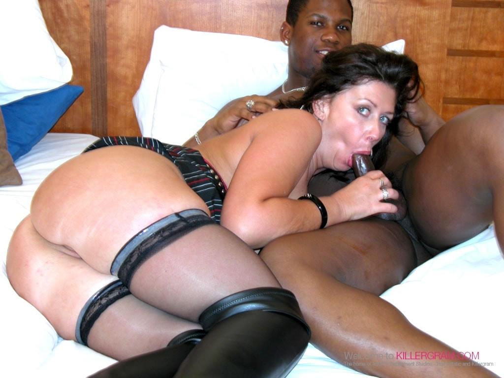 Sara Beattie - A Black Cock Threesome