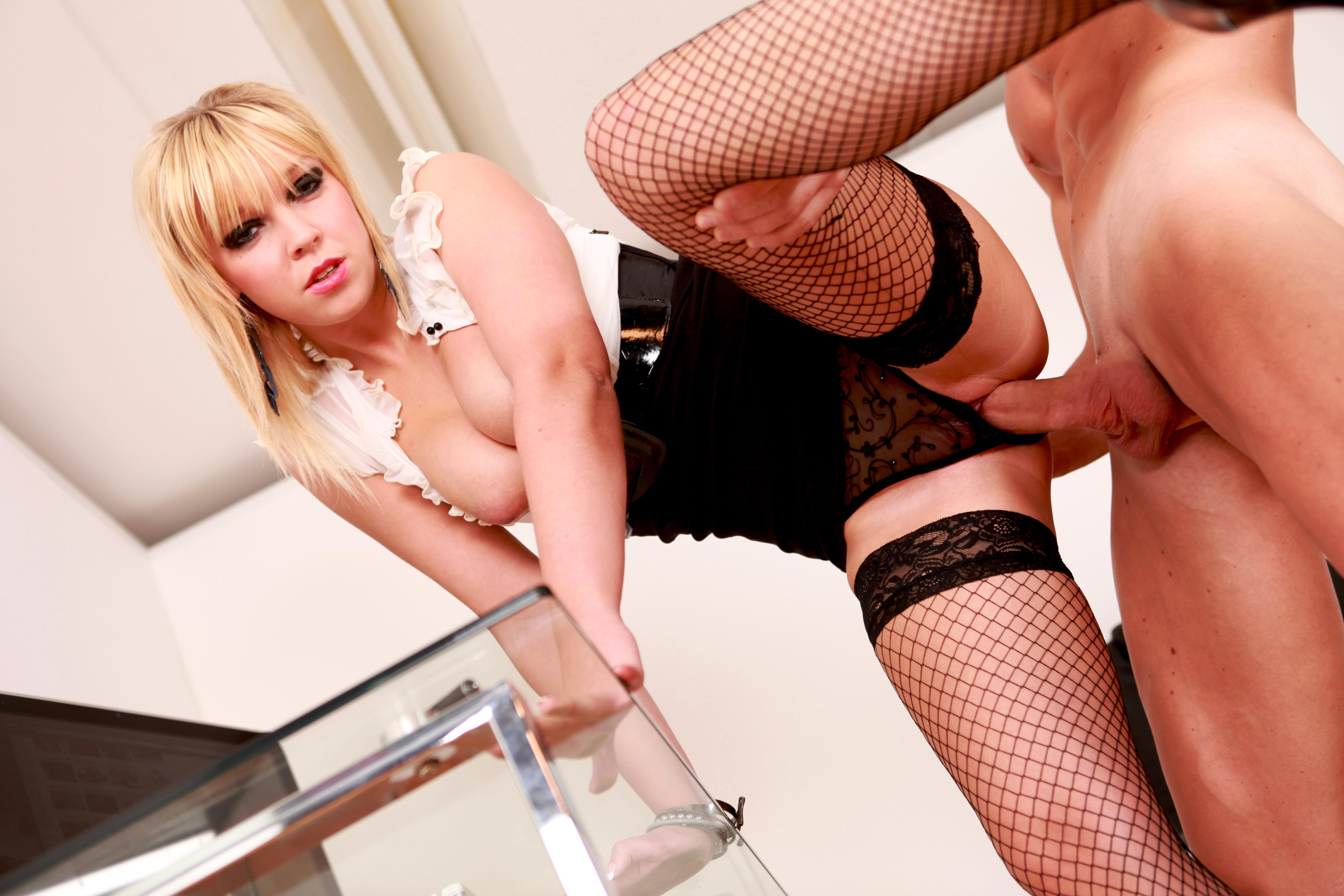 Scarlet Lovatt - A Hot Blonde Secretary