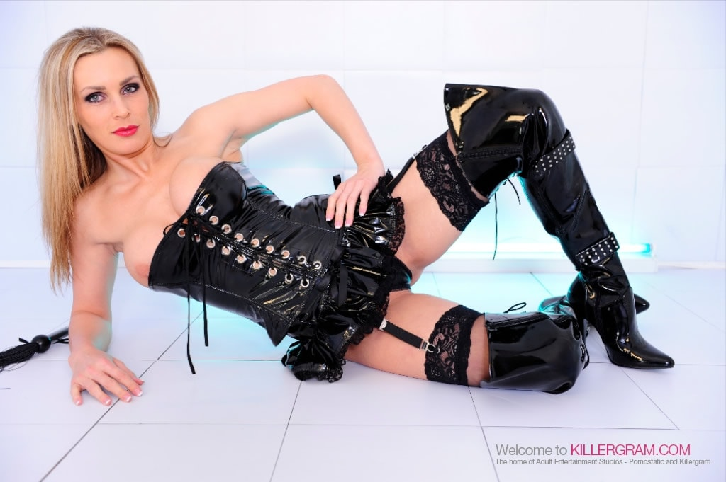 Tanya Tate - Latex and Hard Creamed