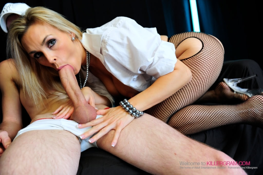 Tanya Tate - Nylons and Huge Cock