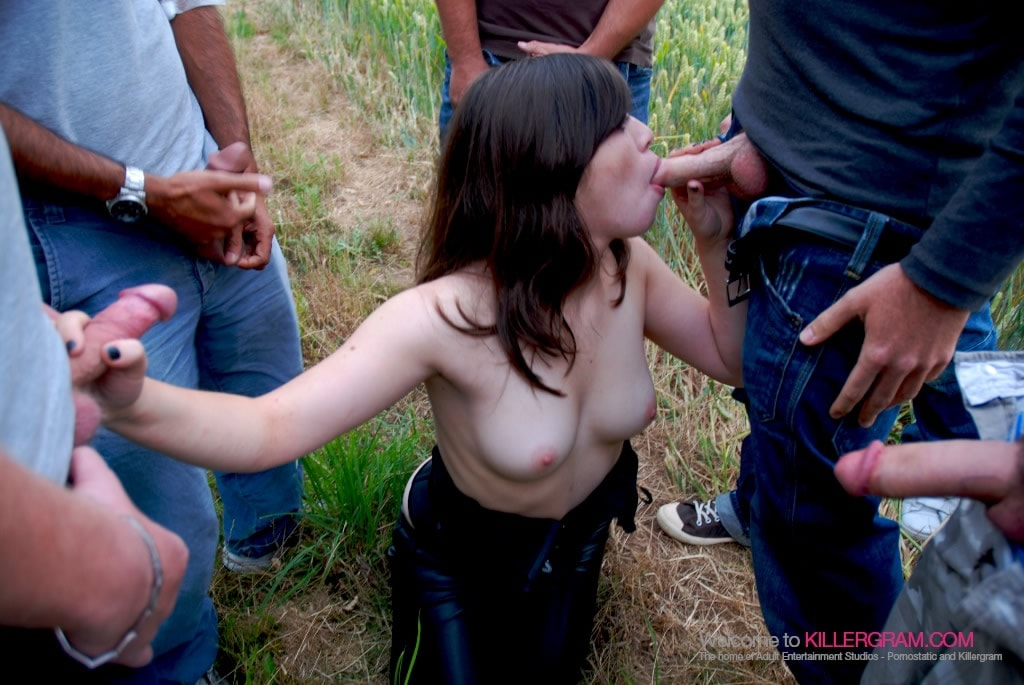 Tiffany Doll - A Summer Dogging Orgy